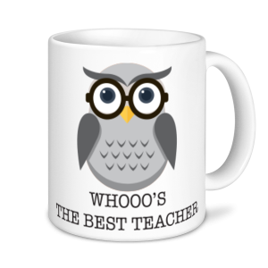 Teachers Mugs - Whoo's the best Teacher