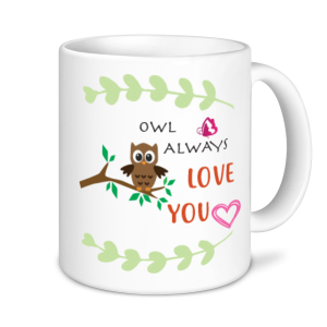 Valentine's Mug - Owl Always Love You