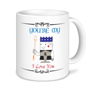 Valentine's Mug - You're My K I Love You