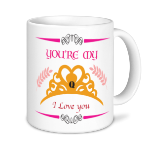 Valentine's Mug - You're My Q I Love You