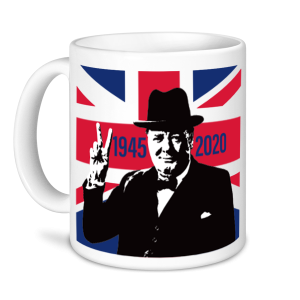 V E Day Mugs - Churchill
