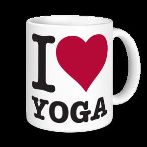 Yoga Mugs - I Love Yoga