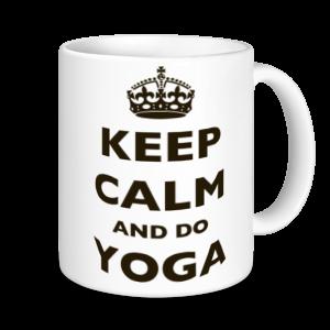 Yoga Mugs - Keep Calm And Do Yoga