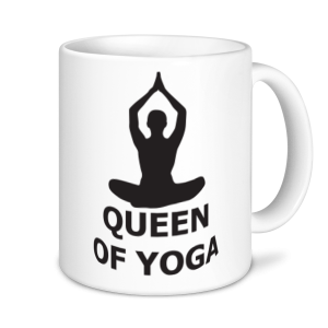 Yoga Mugs - Queen Of Yoga