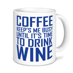Alcohol Mugs - Coffee Keeps Me Busy....