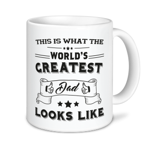 Dad Mug - This Is What The World's Greatest Dad Looks Like
