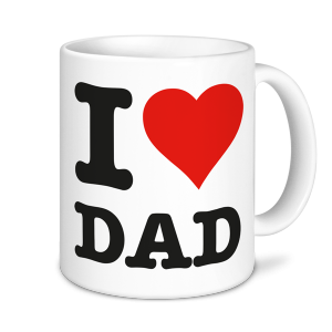 Father's Day Mug - I Love Dad