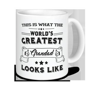 Grandad Mug - This Is What The World's Greatest Grandad Looks Like