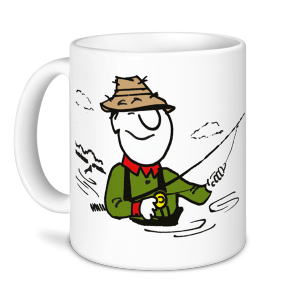 Fishing Mug - I'd Rather Be Fishing