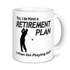 Golf Mugs - I Plan On Playing Golf