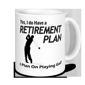 Golf Mugs - I Plan On Playing Golf