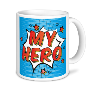 Personalised Teacher Mug - My Hero