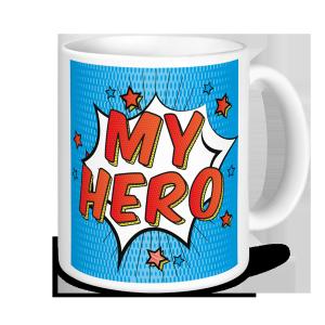 Personalised Teacher Mug - My Hero