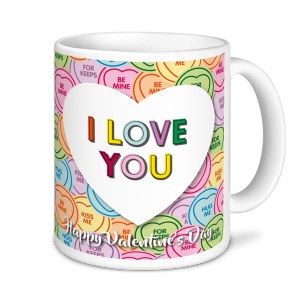 I Love You - Valentine's Mug
