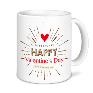 Valentines Mug - Love is in the Air