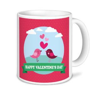 Valentine's Mug - Love Birds