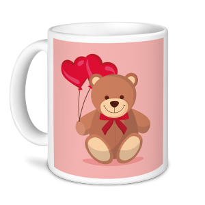 Valentine's Mugs - I Can't Bear To Be Without You