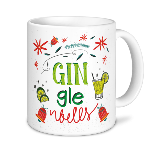 Christmas Mugs - Gin-gle Bells
