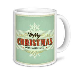 Christmas Mug - Merry Christmas One and All