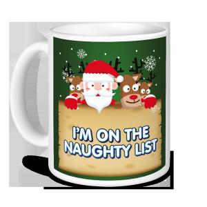 Christmas Mug - I'm on the Naughty List