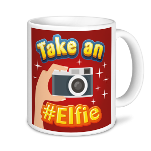 Christmas Mugs - Take an #Elfie