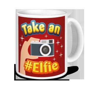 Christmas Mugs - Take an #Elfie